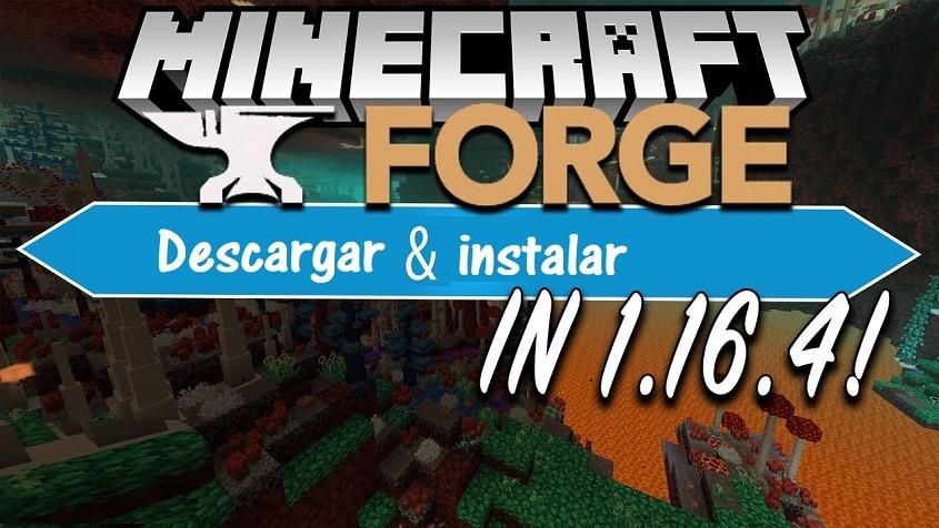 Minecraft Forge para Minecraft