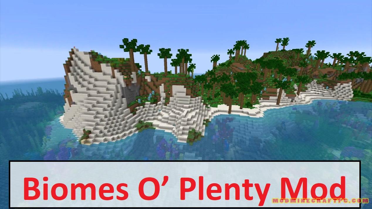 Biomes O' Plenty Mod