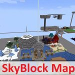 skyblock map 0