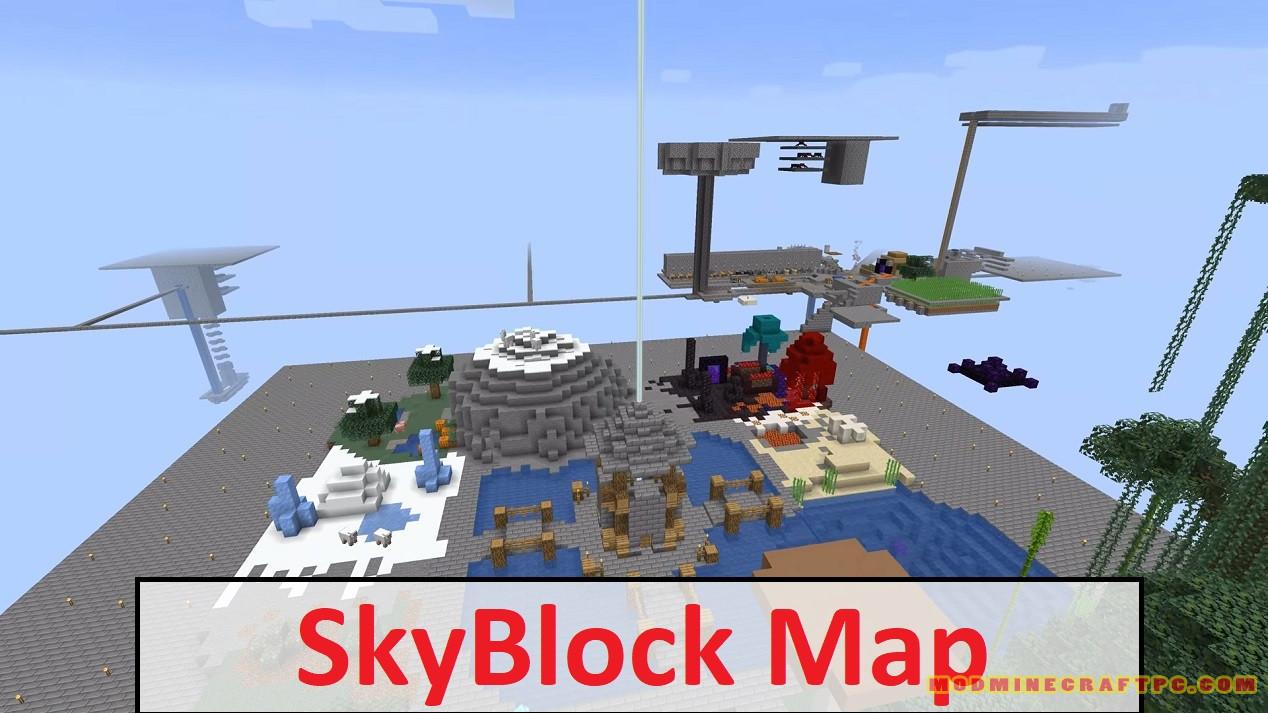 SkyBlock Map