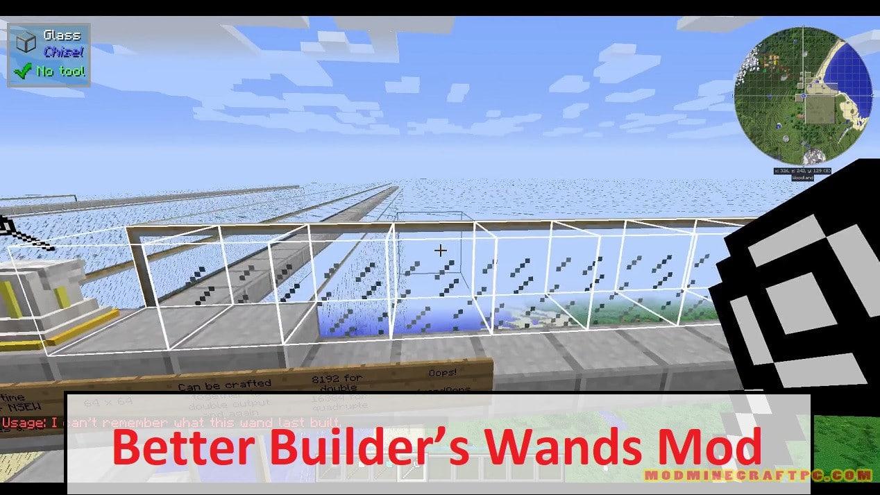 Better Builder's Wands Mod