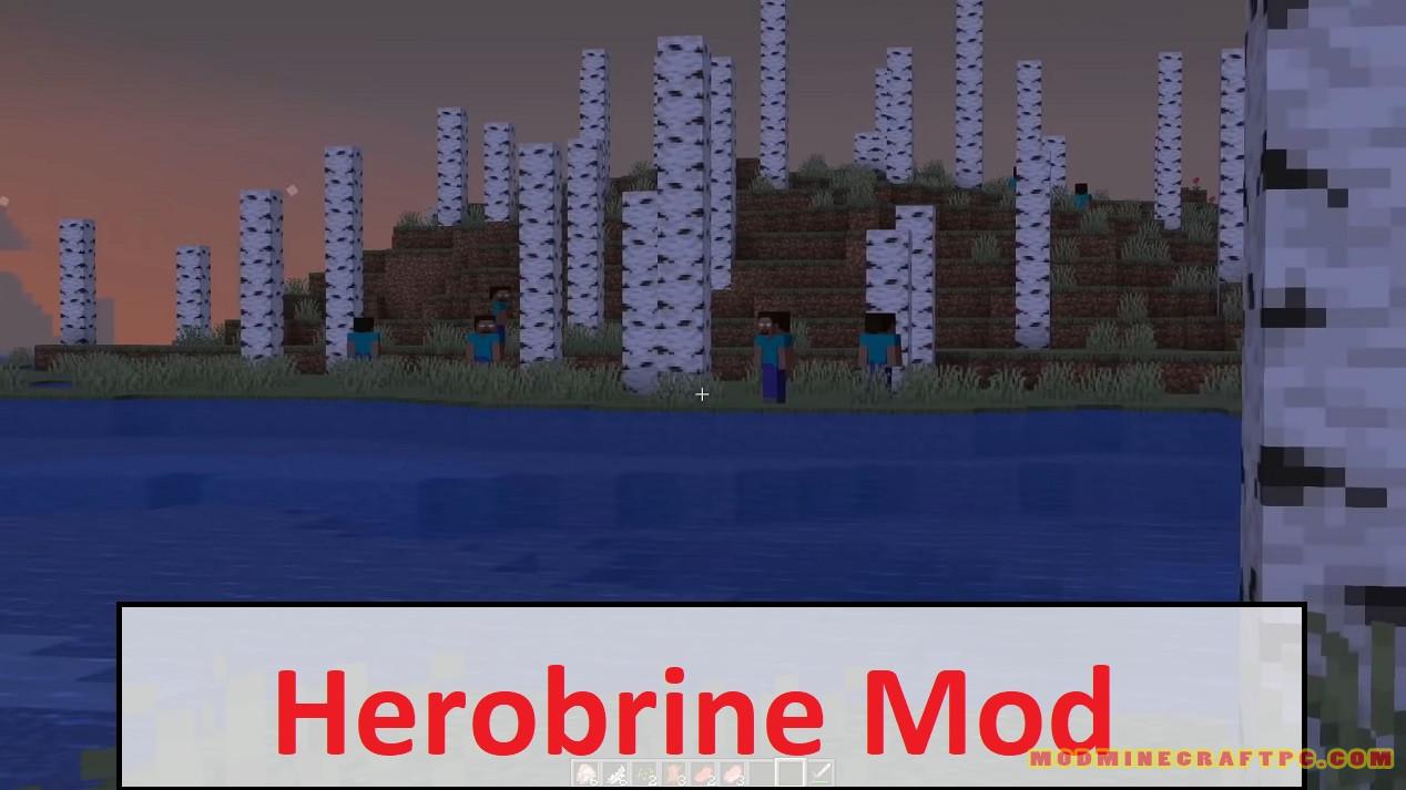 Herobrine Mod