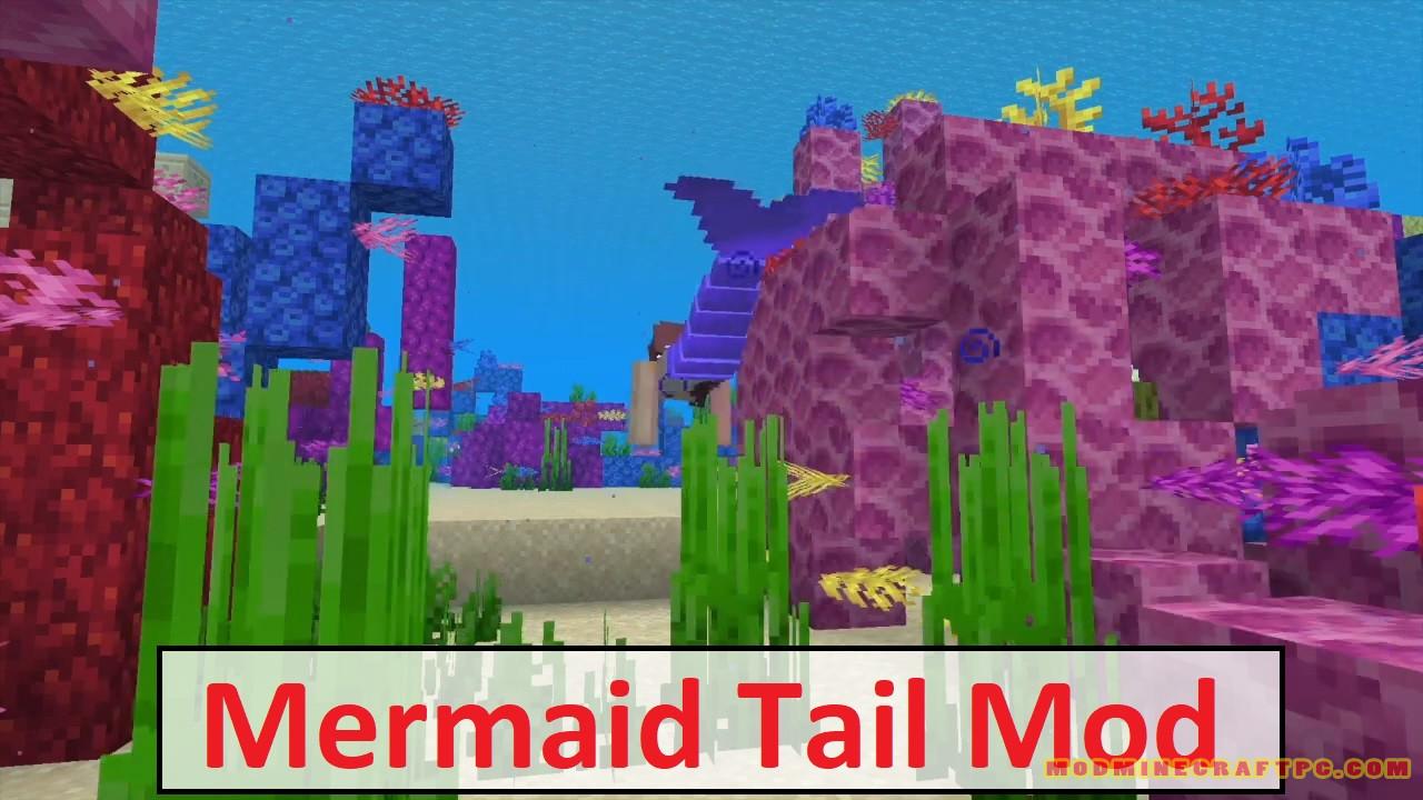 Mermaid Tail Mod