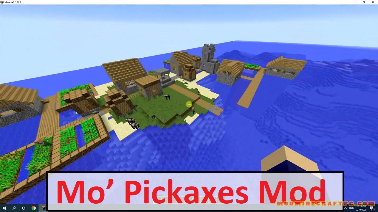 Mo' Pickaxes Mod