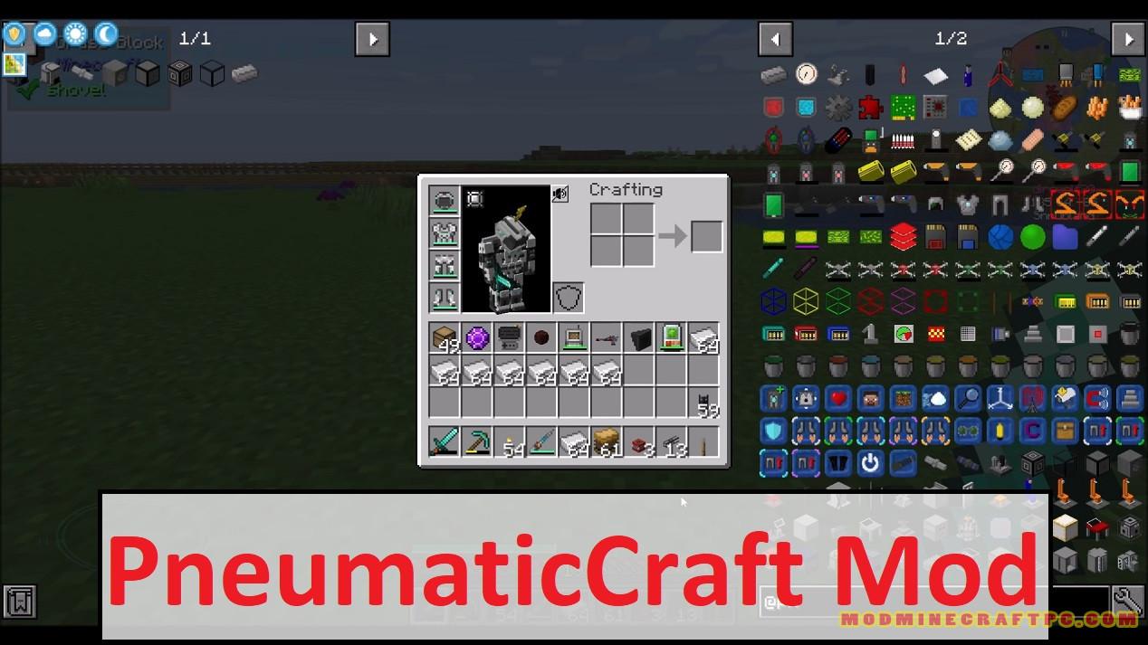 PneumaticCraft Mod