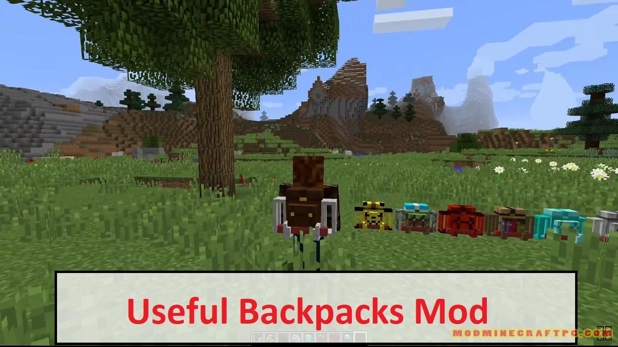 Useful Backpacks Mod