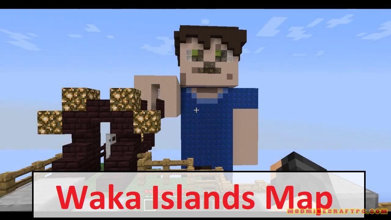 Waka Islands Map