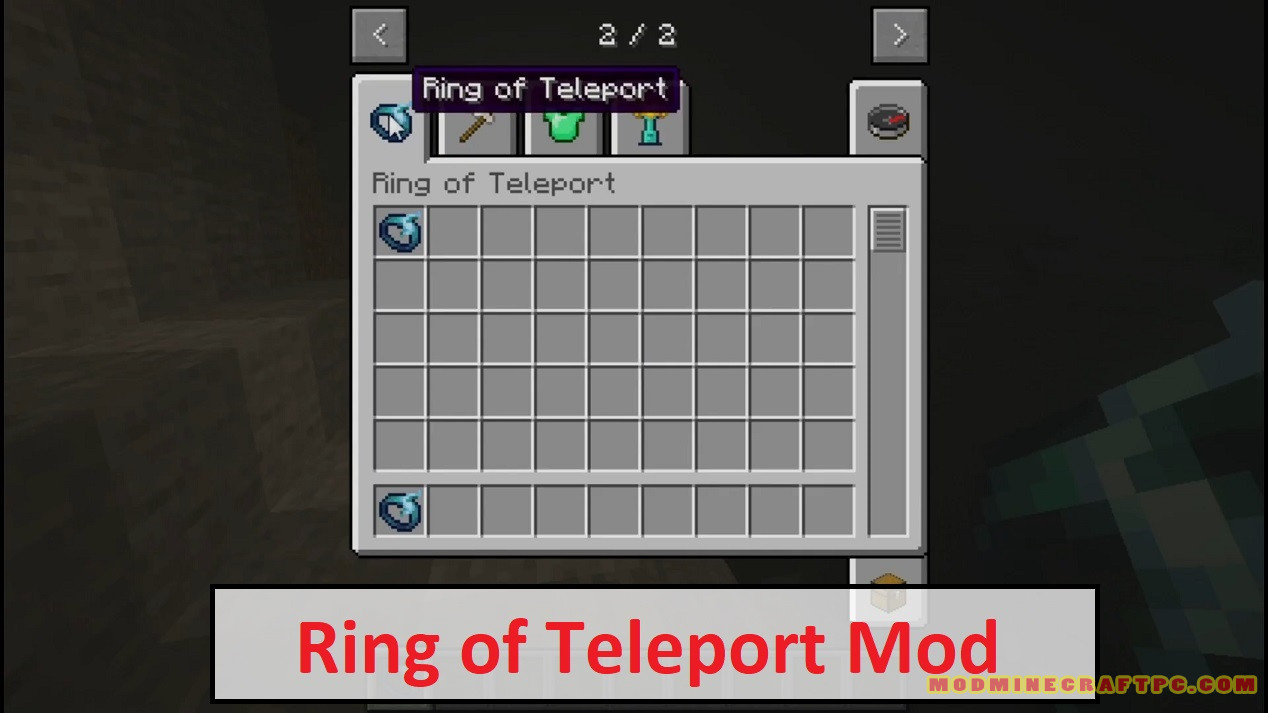Ring of Teleport Mod