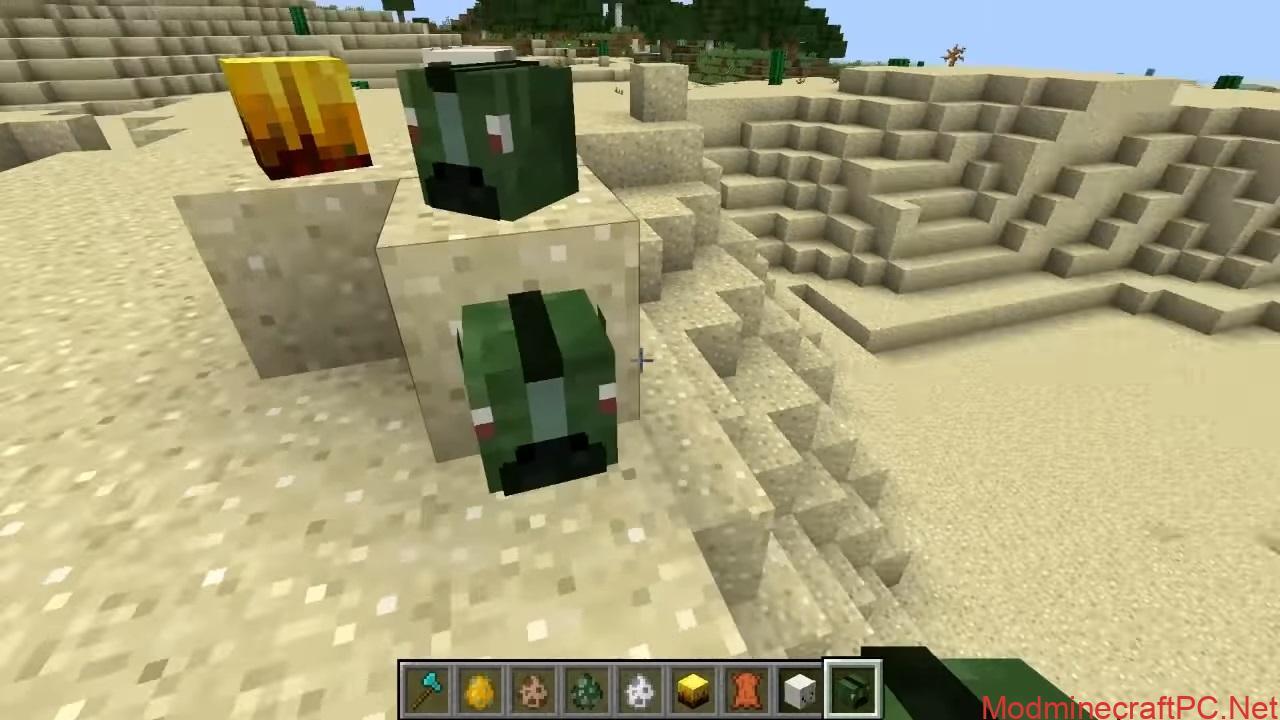 Just Mob Heads Mod